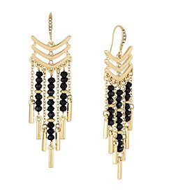 Laundry® Beaded Chandelier Earrings