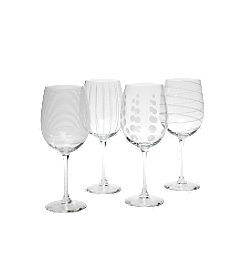 Mikasa® Cheers Barware Set of 4 White Wine Glasses