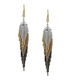 Laundry® Layered Fringe Drop Earring
