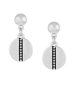 Laundry® Disc Drop Earrings