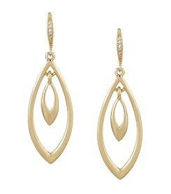 Laundry® Navette Orbit Drop Earring
