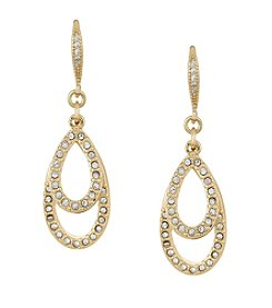 Laundry® Pave Teardrop Earring