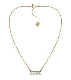 Laundry® Baguette Bar Necklace