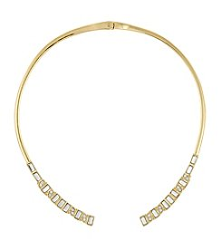 Laundry® Baguette Hinge Collar Necklace