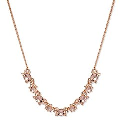 Givenchy® Rose Goldtone Burst Frontal Necklace