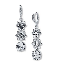 Givenchy® Simulated Crystal Linear Earrings