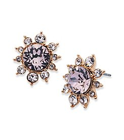 Givenchy® Button Cluster Earrings
