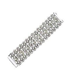 Givenchy® Dramatic Simulated Crystal Flex Bracelet