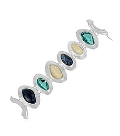 Robert Lee Morris Soho™ Mixed Semiprecious Stone Sculptural Bracelet