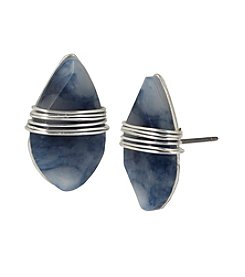 Robert Lee Morris Soho™ Semiprecious Stone Stud Earrings