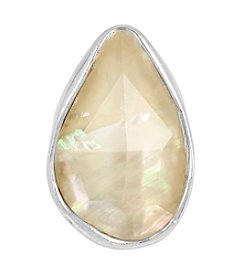 Robert Lee Morris Soho™ Simulated Mother Of Pearl Stone Sculptural Ring