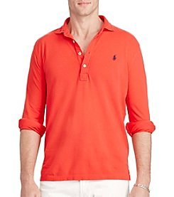 Polo Ralph Lauren® Men's Featherweight Mesh Long Sleeve Polo Shirt