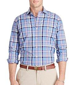 Polo Ralph Lauren® Men's Poplin Spread Long Sleeve Knit