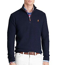 Polo Ralph Lauren® Men's Pima Cotton Long Sleeve Half Zip