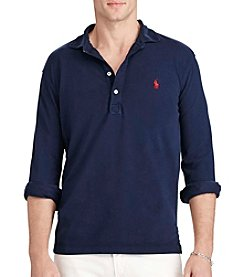 Polo Ralph Lauren® Men's Featherweight Mesh Long Sleeve Polo