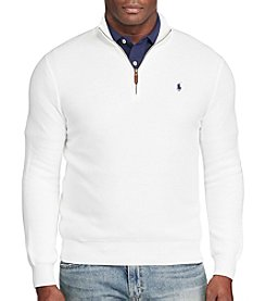 Polo Ralph Lauren® Men's Pima Cotton Long Sleeve 1/2 Zip Fleece