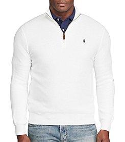 Polo Ralph Lauren® Men's Pima Cotton Long Sleeve 1/2 Zip Fleece