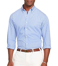 Polo Ralph Lauren® Men's Poplin Button Down Long Sleeve Shirt