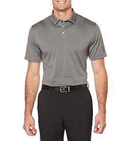 PGA TOUR® Men's Ventaliated Mini Geo Jacquard Polo