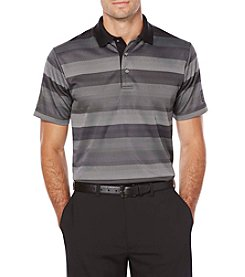 PGA TOUR® Men's Twill Birdseye Striped Jacquard Polo
