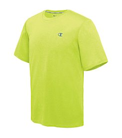 Champion® Men's Poly Vapor Heather Short Sleeve Tee