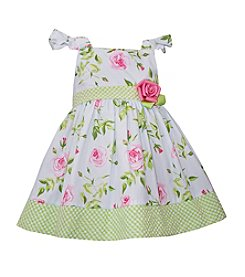 Bonnie Jean® Baby Girls' Rose Flutter Sleeve Dress