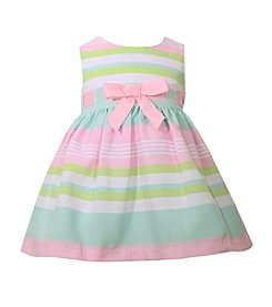Bonnie Jean® Baby Girls' Multi Striped Easter Dress