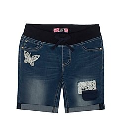 Lee® Girls' 7-16 Crochet Patch Bermuda Shorts
