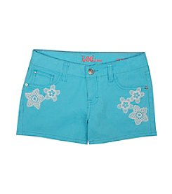 Lee® Girls' 7-16 Crochet Flower Shorts