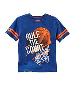 OshKosh B'Gosh® Boys' 4-7 Short Sleeve Rule Court Tee