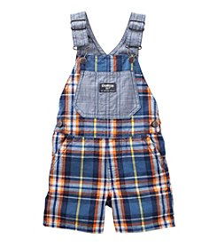 OshKosh B'Gosh® Baby Boys Plaid Shortalls