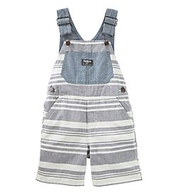 OshKosh B'Gosh® Baby Boys Striped Shortalls