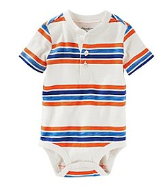 OshKosh B'Gosh® Baby Boys Striped Short Sleeve Bodysuit