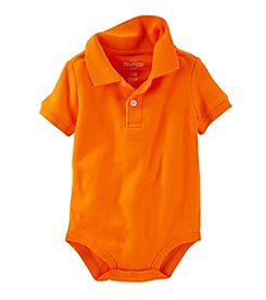 OshKosh B'Gosh® Baby Boys Short Sleeve Polo Bodysuit