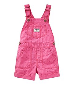OshKosh B'Gosh® Baby Girls' Heart Printed Shortalls
