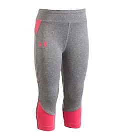 Under Armour® Girls' 2T-6X Logo Toss Capris
