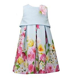Bonnie Jean® Girls' 4-6X Printed Scuba Popover Dress
