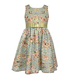 Bonnie Jean® Girls' 7-16 Allover Floral Dress