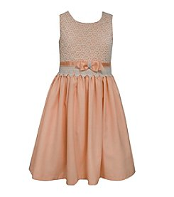 Bonnie Jean® Girls' 2T-6X Linen Lace Dress