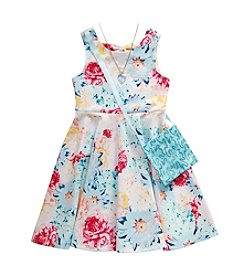 Sweet Heart Rose® Girls' 4-6X Floral Dress