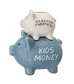 Prinz® Parents' / Kids' Money Ceramic Pig Bank