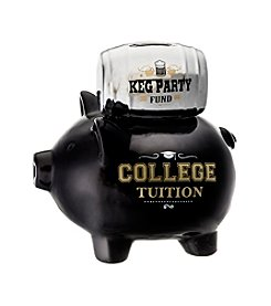 Prinz® Keg Party And Tuition Ceramic Pig Bank