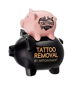 Prinz® Tattoo / Tattoo Removal Ceramic Pig Bank