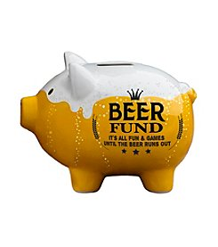 Prinz® Beer Fund Ceramic Pig Bank