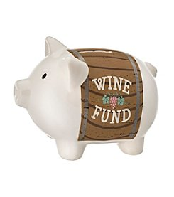 Prinz® Wine Fund Ceramic Pig Bank