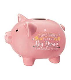 Prinz® Little Savings Big Dreams Ceramic Pig Bank