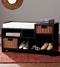 Southern Enterprises Wixshire Asymmetrical Storage Bench