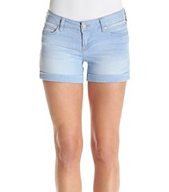 Celebrity Pink Mid Rise Cuffed Shorts
