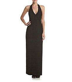Calvin Klein Halter Long Gown