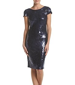 Calvin Klein Sequin Lace Dress
